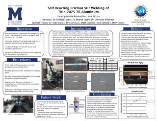 Self-Reacting Friction Stir Welding of  Thin 7075-T6 Aluminum