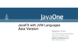 JavaFX with JVM Languages Asia Version