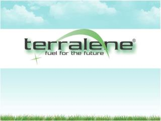 THE TERRALENE ADVANTAGE FOR GOVERNMENT AND INDUSTRY