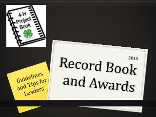 2013 Record Book and Awards