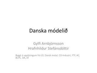 Danska módelið
