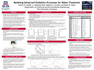Modeling Advanced Oxidation Processes for Water Treatment