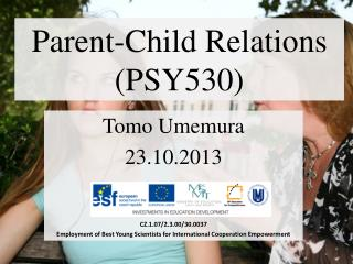 Parent-Child Relations (PSY530)
