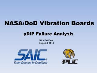 NASA/ DoD  Vibration Boards