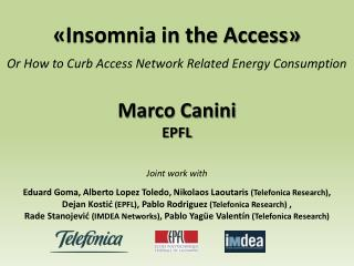 «Insomnia in the Access »