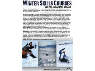 Scotland Winter Skills Courses