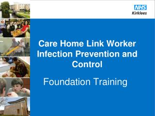 Care Home Link Worker Infection Prevention and Control