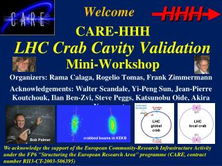 CARE-HHH LHC Crab Cavity Validation  Mini-Workshop