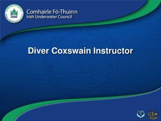 Diver Coxswain Instructor