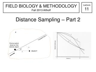 Distance Sampling – Part 2