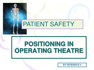 POSITIONING IN OPERATING THEATRE