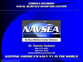 NSWC Corona-MS Interval DJ June 2002