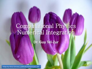 Computational Physics Numerical Integration