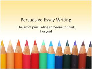 persuading essays As with everything, when writing essays about books, there is a formula or guidelines you need to follow guidelines to follow when writing essays about books there's no specific rule that says you should have a plan before writing an essay.