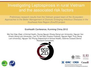 Investigating Leptospirosis in rural Vietnam and the associated risk factors