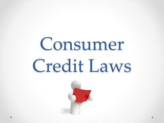 Consumer Credit Laws