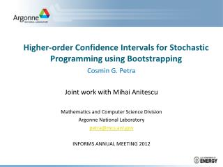 Higher-order Confidence Intervals for Stochastic Programming using Bootstrapping