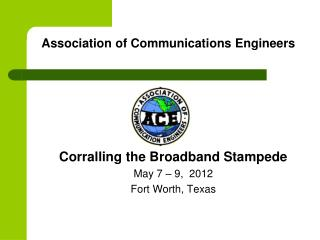 Association of Communications Engineers