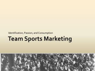 Team Sports Marketing