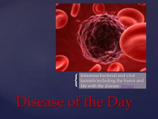 Disease of the Day
