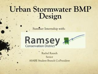 Urban Stormwater BMP Design