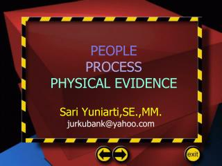 PEOPLE PROCESS PHYSICAL EVIDENCE