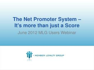 The Net Promoter System –  It's more than just a Score