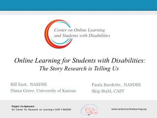 Online Learning for Students with Disabilities: The Story Research is Telling Us