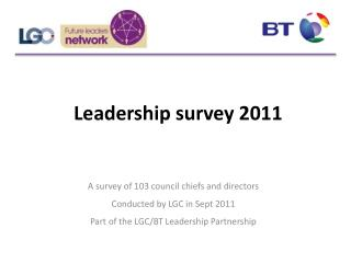 Leadership survey 2011