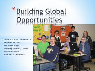 Building Global Opportunities