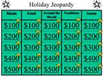 Holiday Jeopardy