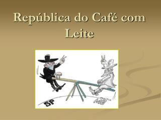Rep blica do Caf  com Leite