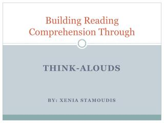 Building Reading Comprehension Through
