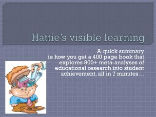 Hattie's visible learning