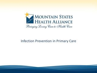 Infection Prevention in Primary Care