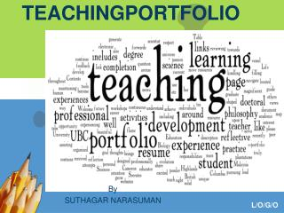 TEACHINGPORTFOLIO
