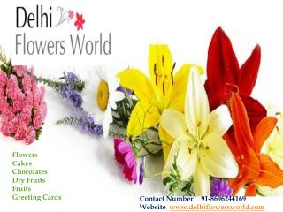 Online Flowers Delivery in Delhi