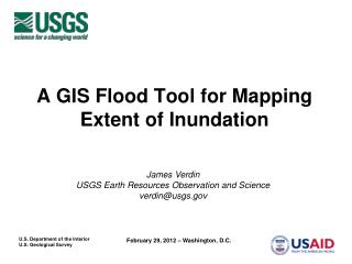A GIS Flood Tool for Mapping Extent of Inundation