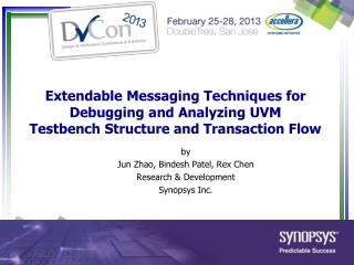 by Jun Zhao, Bindesh Patel, Rex Chen Research & Development Synopsys Inc.