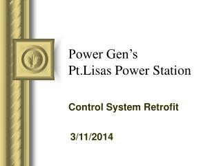 Power Gen's Pt.Lisas Power Station