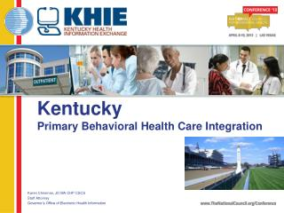 Kentucky Primary  Behavioral Health Care  Integration
