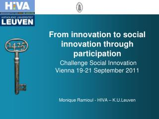 1. Innovation challenges in industry