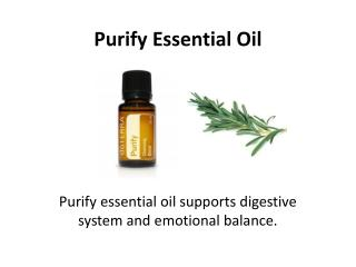 Get Purify Essential Oil Today