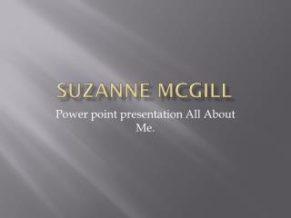 Suzanne McGill
