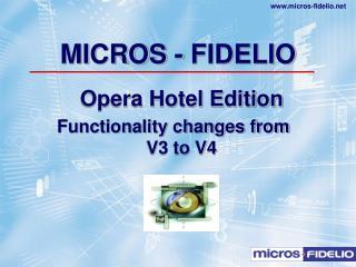 MICROS - FIDELIO