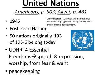 United Nations Americans , p. 603;  Alive! , p. 481