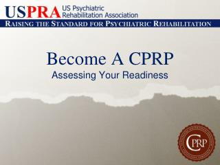 Become A CPRP