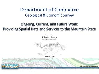 Department of Commerce Geological & Economic Survey