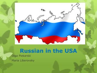 Russian in the USA