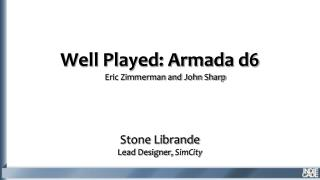 Well Played:  Armada d6